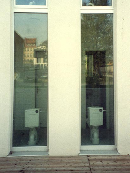 Modell Fenster-WC